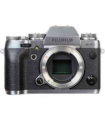 FUJIFILM X-T1 MIRRORLESS DIGITAL CAMERA BODY ONLY GRAPHITE SILVER EDITION