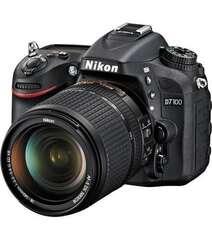 NIKON D7100 DSLR CAMERA 18-140MM LENS KIT BLACK