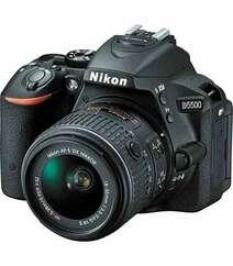 NIKON D5500 DSLR CAMERA WITH 18-55MM LENS BLACK