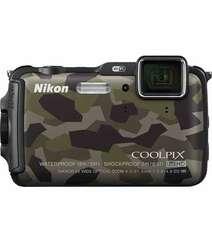 NIKON COOLPIX AW120 WATERPROOF DIGITAL CAMERA CAMOUFLAGE