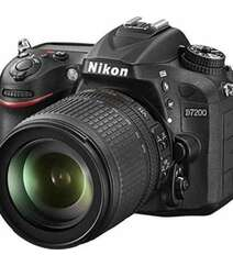 NIKON D7200 DSLR CAMERA WITH 18-105MM LENS