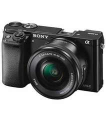 SONY ALPHA A6000 MIRRORLESS DIGITAL CAMERA WITH 16-50MM LENS BLACK