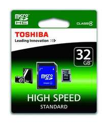 TOSHIBA SD-C32GJ(6A 32GB CLASS 4 MICROSDHC CARD