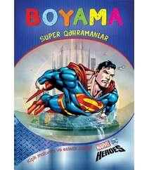 Boyama. Super heroes
