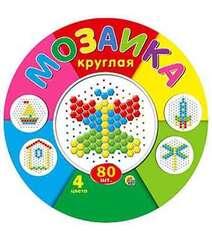 Мозаика круглая. 80 фишек