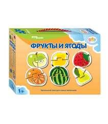 Step Puzzle. Пазл для малышей. «Фрукты и ягоды» 6 в 1.