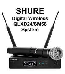 "Mikrofon ""SHURE QLXD24 / SM58"""