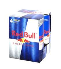 Red Bull 4x250ml Energy Drink Pack