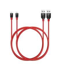 Anker Lightning kabeli 6 ft Qırmızı
