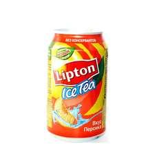 LIPTON 330ML ICE TEA SAFTALI D/Q