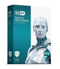 ESET NOD32 Antivirus 2PC+1