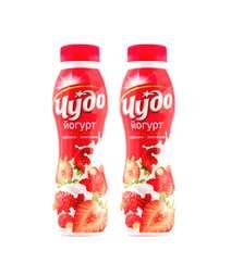 Cudo 290gr Yogurt Klubnika-Zemlyanika 2.4%