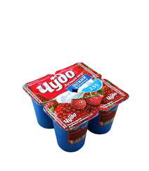 Cudo 115gr Yogurt Klubnika-Zemlyanika 2.5%