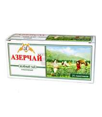 AZERCAY 25X2GR YASIL CAY KLASSIK QUTU
