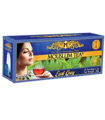 MOUSLUM TEA 25*2GR EARL GREY