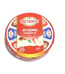 President 140gr Pendir Assorti 8li
