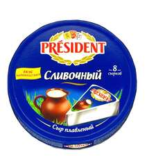 President 140gr Pendir Qaymaqli 8li