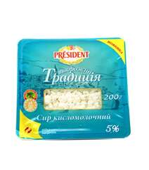 President 200gr Kesmik 5% Tv.Tradiciya Pl/Q