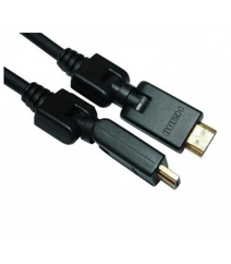 Kabel HDMI 19M/M 360°Angle fırlanan konnektorla (10 metrə)