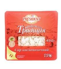 President 450gr Kesmik 15% Tv.Tradiciya Pl/Q