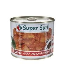 Super Sun 490gr Mal Eti Konservi D/Q
