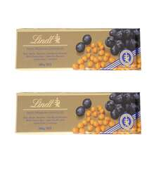 LINDT SWISS 300GR SOKOLAD RAISIN HAZELNUT PLITKA
