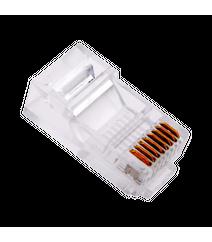RJ45 CAT5E konnektorları ( LAN CAT5 uyumlu)