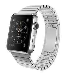 APPLE WATCH 42MM STAINLESS STEEL WITH LINK BRACELET MJ472