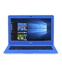 """Acer Aspire One Cloudbook 14 NX-SHGEM.001 White-Blue (Celeron, 2GB, 32GB SSD, 14"""" LED, Intel HD, Win10) Engl/Arab"""