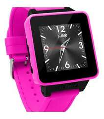 BURG 16 SMARTWATCH PHONE WITH SIM CARD FOR IOS AND ANDROID (PINK)