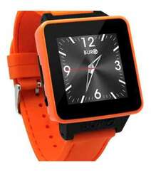 BURG 16 SMARTWATCH PHONE WITH SIM CARD FOR IOS AND ANDROID (ORANGE)