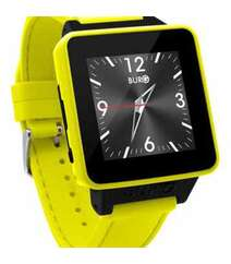 BURG 16 SMARTWATCH PHONE WITH SIM CARD FOR IOS AND ANDROID (YELLOW)