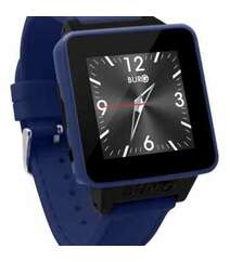 BURG 16 SMARTWATCH PHONE WITH SIM CARD FOR IOS AND ANDROID (DENIM BLUE)