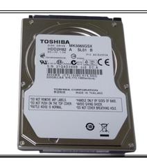 HDD Toshiba SATA 2.5 500 GB (internal)
