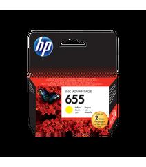 HP 655 Sarı Rəngli Kartric