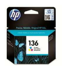 HP 136 Üç Rəngli Kartric