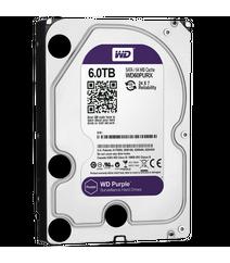 """WD Purple 6TB Intellipower Sata 3.0 64Mb 3,5"""" Sabit disk 7x24 (WD60PURX)"""