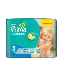 Pampers Prima Jumbo Junior N-5 11×18*3 ((36′ Li))