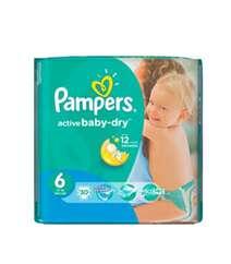Pampers 6 15+Kg 30Li Active Baby