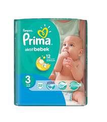 Pampers Prima 3 4-9Kg 33ed Aktif Bebek