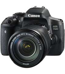 Canon EOS 750D Kit With 18-135mm