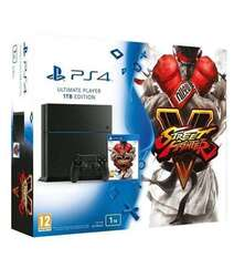 Sony PlayStation 4 Ultimate Player 1TB Edition With Street Fighter V Bundle