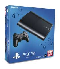 Sony PlayStation 3 Super Slim 500Gb Black