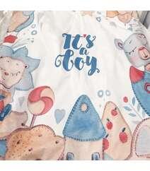 Одеяло для малыша Размер 75/105 см 100% хлопок Европейская печать