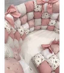 Бомбон бортики на все виды кроваток