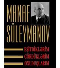 Manaf Süleymanov – Eşitdiklərim, oxuduqlarım, gördüklərim