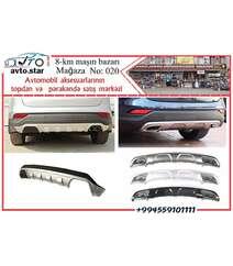 Hyundai Santafe arxa difuzeri 2006-2009 modellərə