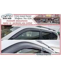 Toyota Prado orginal yan küləkliklər (vetraviklər)