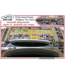 Toyota Land Cruiser LC200 Arxa spoyleri