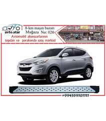 Hyundai İX 35 yan ayaqaltlıqlar (padnoşkalar) 2009-2014